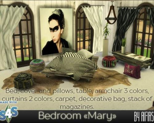 Mary bedroom