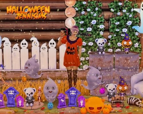 Happy Halloween Spooky Props