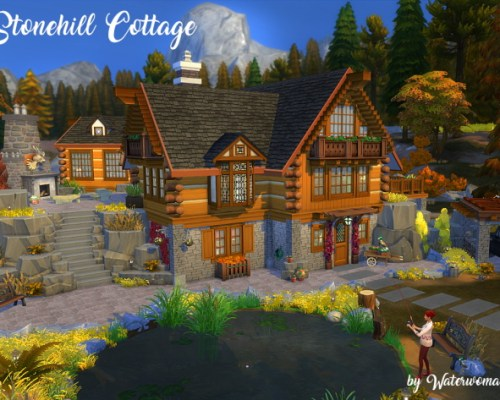 Stonehill Cottage by Waterwoman