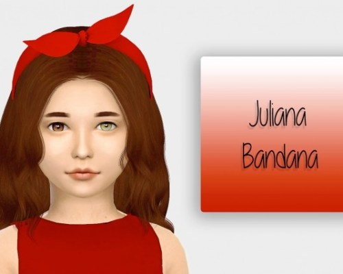 Juliana Bandana Kids Version