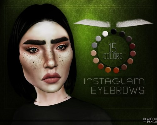 InstaGlam Eyebrows by Blahberry Pancake