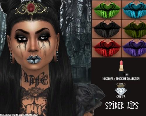 Spider Lipstick by MadameChvlr
