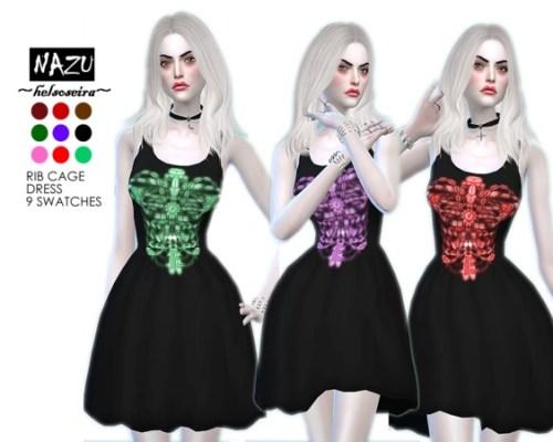 NAZU Rib cage dress by Helsoseira