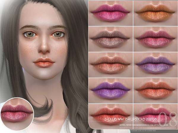 Lipstick 201708 By S-Club WM
