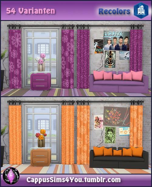 Harmonie City Curtains