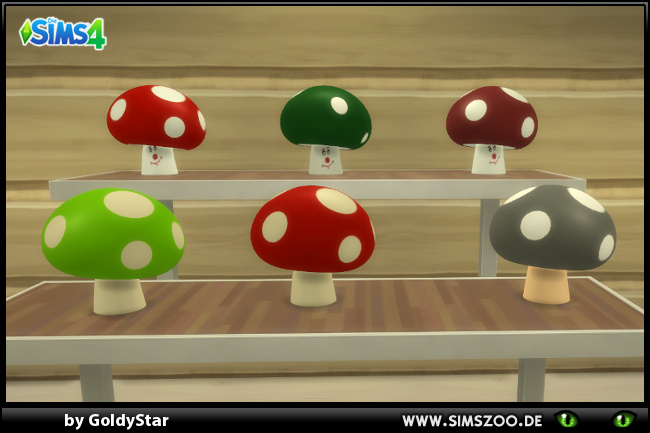Mushrooms By GoldyStar