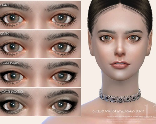 Eyelashes 201713 by S-Club WM