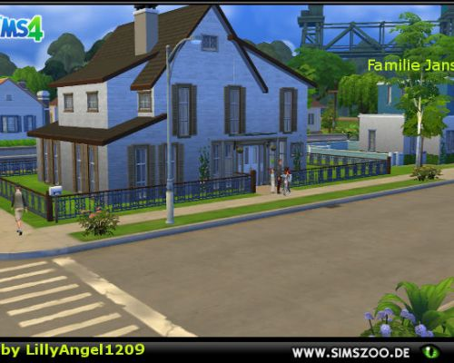 Jansen family with house by LillyAngel1209