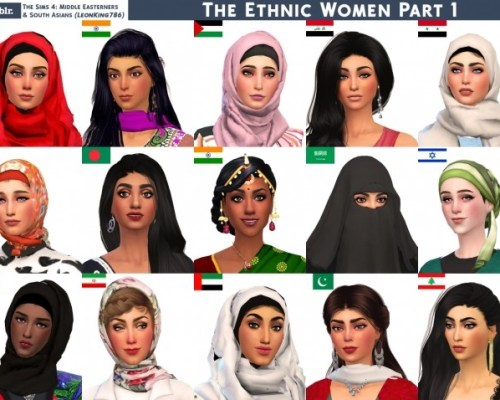 Ethnic Women Part 1