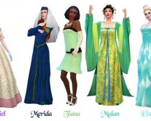 Historically Accurate Princess Series Part 1