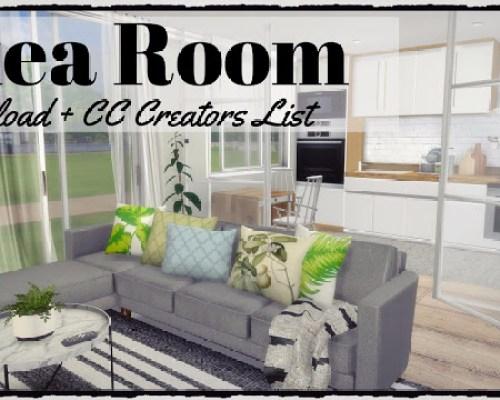 Ikea Kitchen + Livingroom