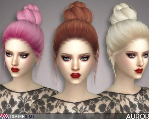 Aurora Hair 46 by TsminhSims