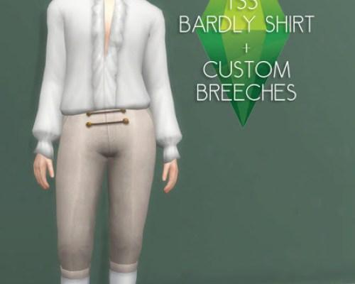 18th Century Rococo Bardly Shirt and Breeches