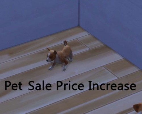 Pet Sale Price Increase by pd1ds