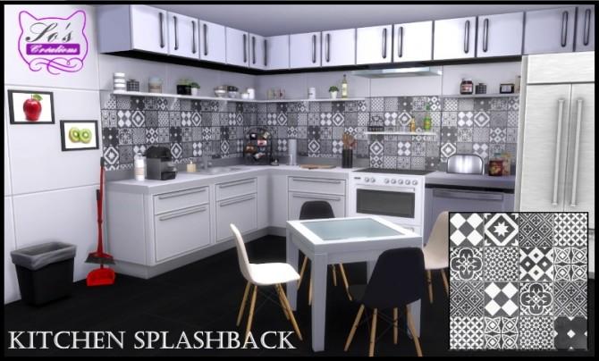 Kitchen Splashback By Sophie Stiquet At