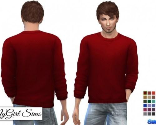 Rolled Sleeve Sweatshirt