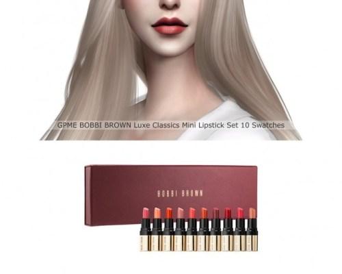 Luxe Classics Mini Lipstick Set