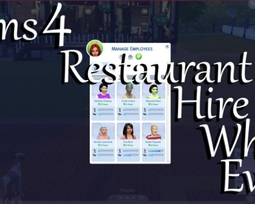 Restaurant Hire Who Ever by PolarBearSims