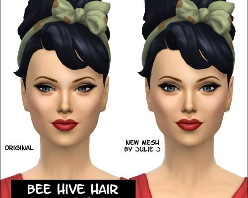 Bee Hive Hair