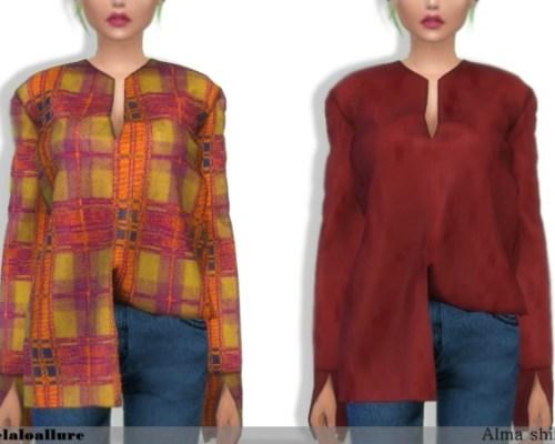 Alma shirt by belaloallure
