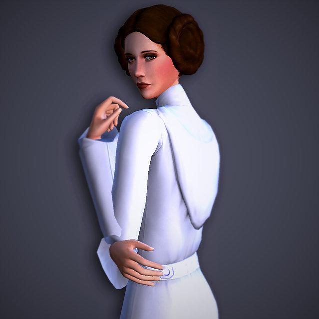 Leia Organa Sim