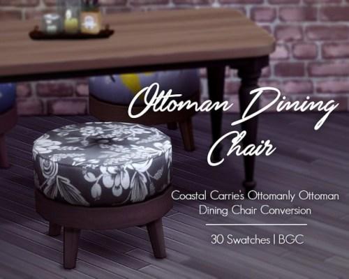 Ottoman Dining Chair