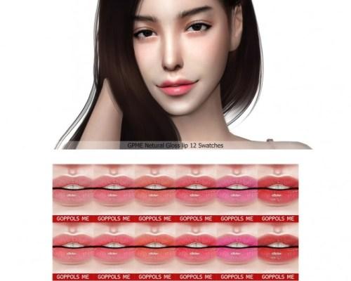 Natural Gloss lip