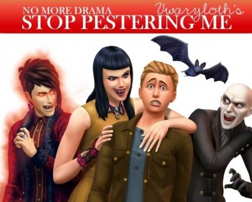 Vampires Stop Pestering Me by Vwaryloth