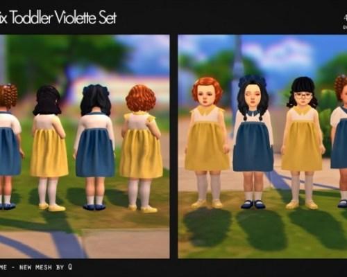 Violette Set T