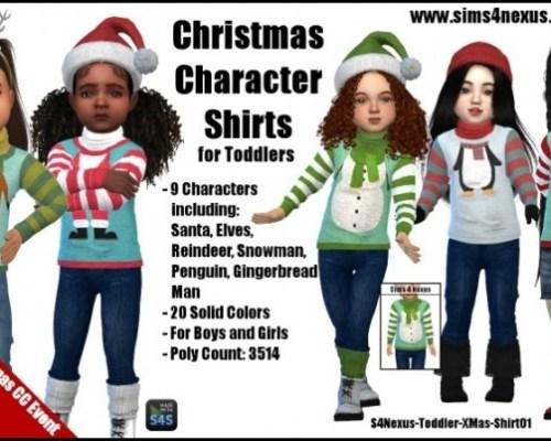 Christmas Character Shirts by SamanthaGump