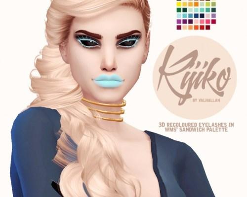 Kijiko recoloured 3D eyelashes