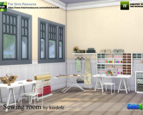 Sewing room by kardofe