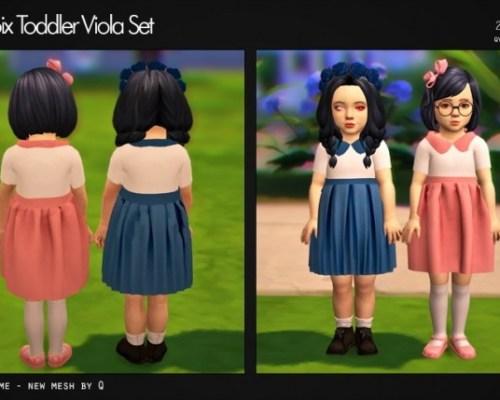 Viola Set T