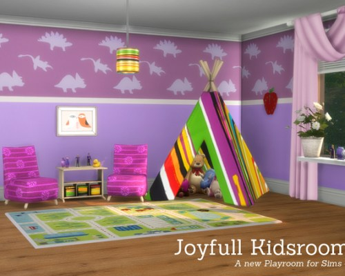 Joyfull Kidsroom by Angela