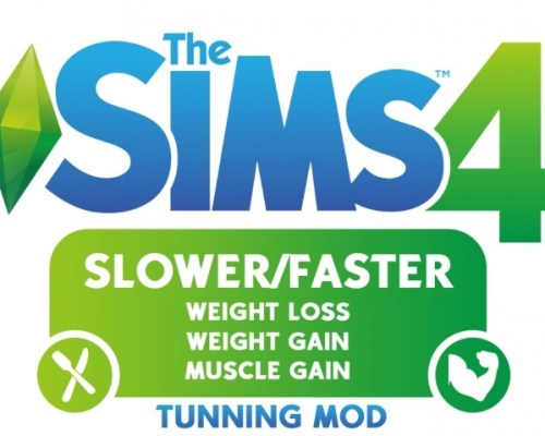 Faster/Slower weight loss, weight and muscle gain by mrccl98
