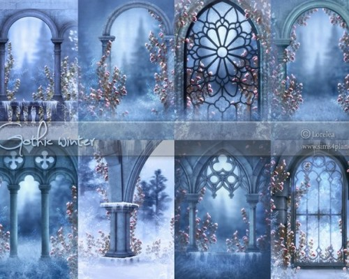 Gothic Winter Backgrounds