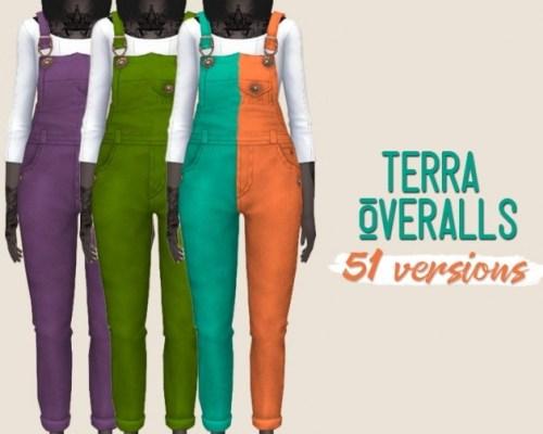 Terra Overalls by midnightskysims
