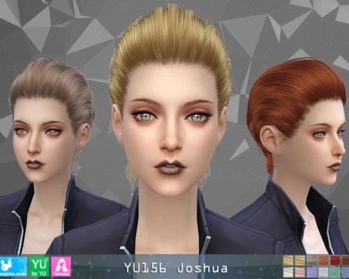 YU156 Joshua hair F (Pay)