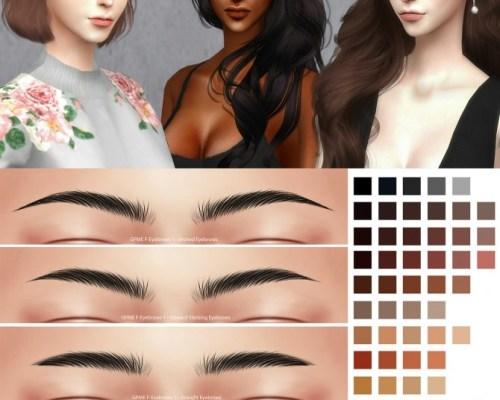 GPME F Eyebrows