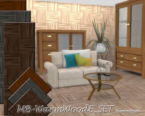 MB Warm Wood E SET by matomibotaki