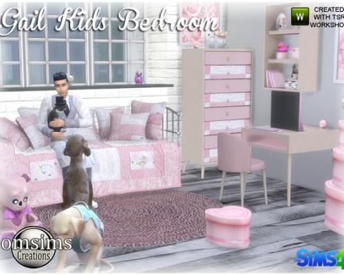 Gail Kids bedroom by jomsims