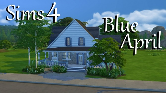 Blue April Small Family Home By PolarBearSims