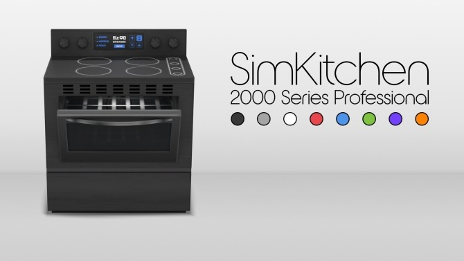 SimKitchen 2000 Series Stove By Littledica