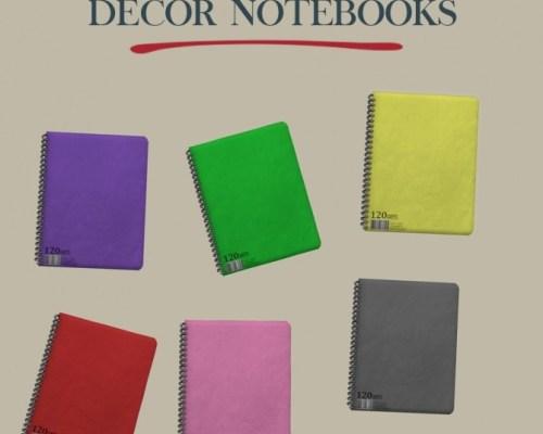 Decor Notebooks