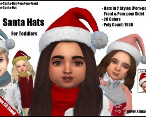 Santa Hats by SamanthaGump