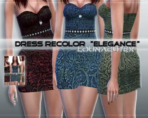 Dress Recolor by L0UNA