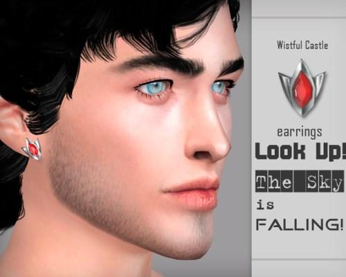 LUTSIF earrings by WistfulCastle