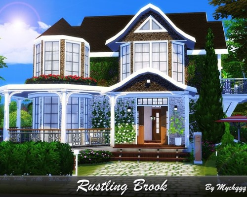 Rustling Brook house by MychQQQ