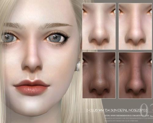 Skin Detail Nose 201703 by S-Club WM