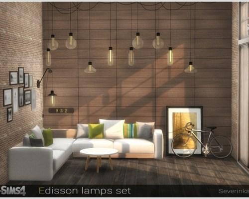 Edisson lamps set by Severinka